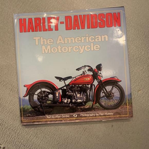Harley Davidson Coffee Table book